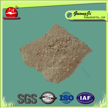 Oil recycling bleaching earth decoloring agent for sewage treatment