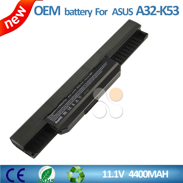 High quality laptop battery for Asus A32-K53 K53E X43E X53Z X53E X53U X53BR X53TA X53S X53SD X53SJ