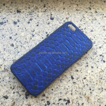 Custom Brand Name Real Python Cover For Iphone X/6/7/8
