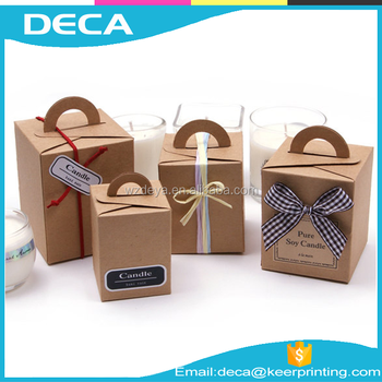 New Design Recyclable Kraft Paper Box For Gift Package