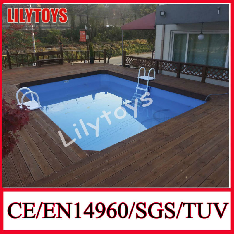 Widely Used Fiberglass Pool, Above Ground Frame Swimming Pool