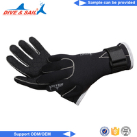 Diving equipment swimming warm scuba silicone webbed diving gloves