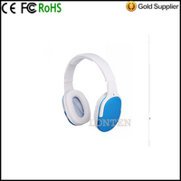 Colorful Hi-Fi CD Sound TF Card Reader MP3 Player earphone Wireless Headphone