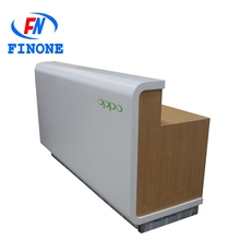Hot selling mall kiosk for cell phone showcase display wholesale mobile phone display counter
