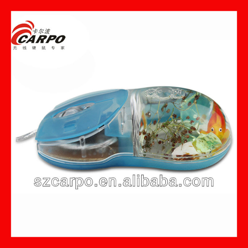 2013 New Products Kids Toys Lovely Fish Oil Mouse for Computer C176