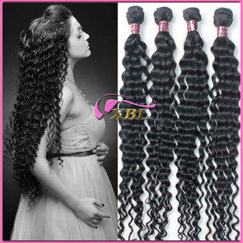 Wavy Virgin Brazilian Hair Extensions For Black Women 1211