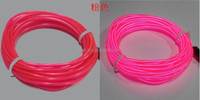 EL wire, diameter 0.9mm ,length1M,2M,3M,with AA battery pack, with 10 colors acailable