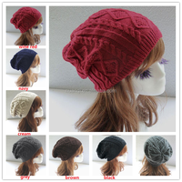 7 colors Unisex Slouchy Winter Beanie Hats