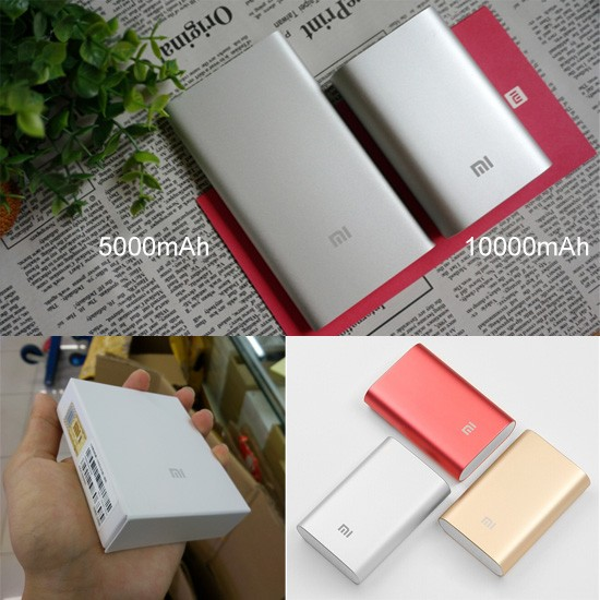 Xiaomi PowerBank 10400mAh/10000mah, wholesale powerbank case, Large Capacity for laptop computer