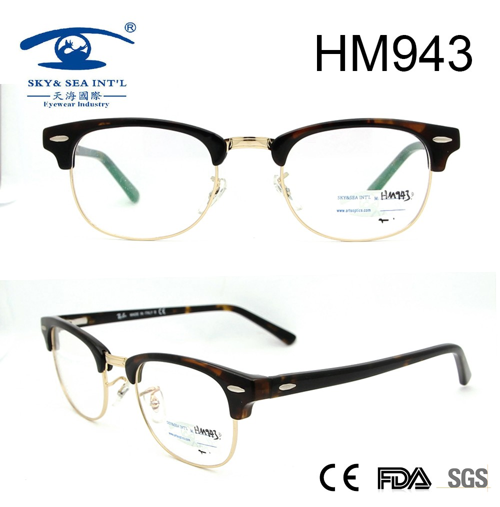 2017 new style fashion designer best seller acetate optical frame for wholesale