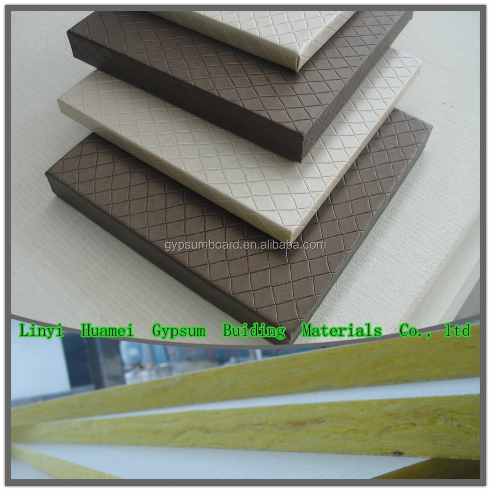 acoustic board for media room/ ceiling and wall panel / Grade A sound-absorbing material.