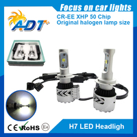 H7 led light headlight 80w h7 auto headlight led car headlight for car led off road led
