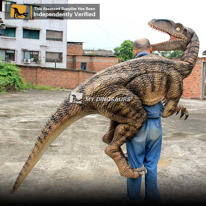 MY DINO-SP067 Adult Cartoon Dinosaur Suit Velociraptor Costume for Sale