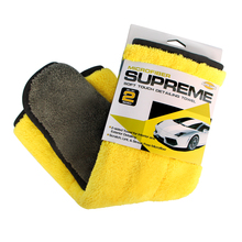 800gsm 45cmx38cm Super Thick Plush Microfiber Car Cleaning Cloth