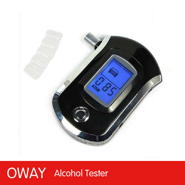 LCD display digital alcohol breath tests