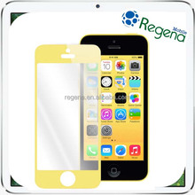 tempered glass screen protector Color Real Tempered Glass Film Screen Protector for iPhone 5 5S 5C