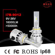 Wholesale Super Bright Car 8000 Lumen led volvo truck headlight High Power 9012 for civic headlight