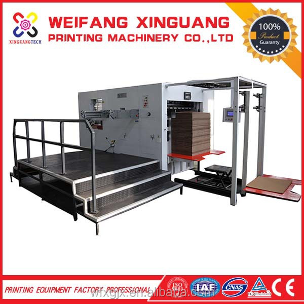 speed of 4500sheets/h semi-auto Advertited Industry new product paper die cutting machine
