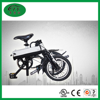 Lightweight brushless lithium Battery folding electric bicycle