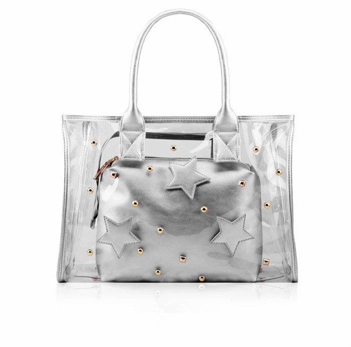 2015 Newest designer two-piece bling bling star bag