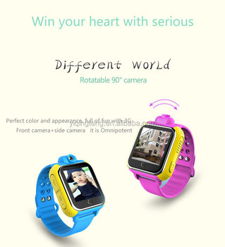 Shenzhen YQT Q730 Android system SOS number Kids Smart watch with camera 3G network gps kids watch