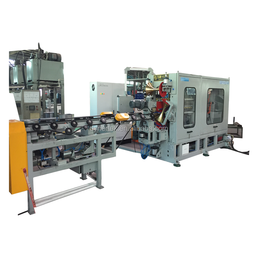 Support OEM Fully automatic welding Machine in steel drum/barrel manufacturer