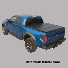 For F150 Supercrew double cab 8'2014+ high quality folding bed accessories easy install fiberglass truck beds