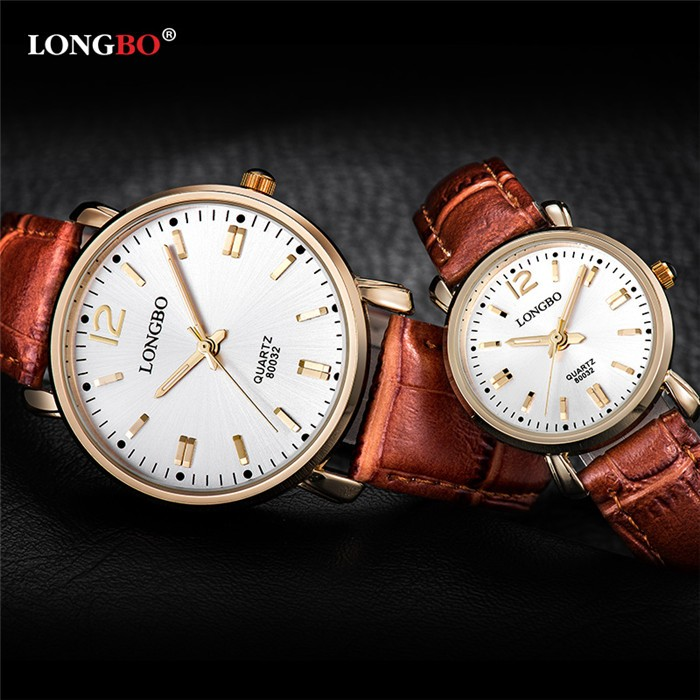LongBo seikoing watches japan movt young boy and young girl london quartz watches