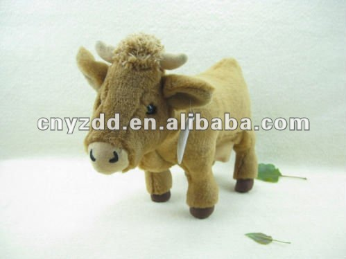 plush animal bison