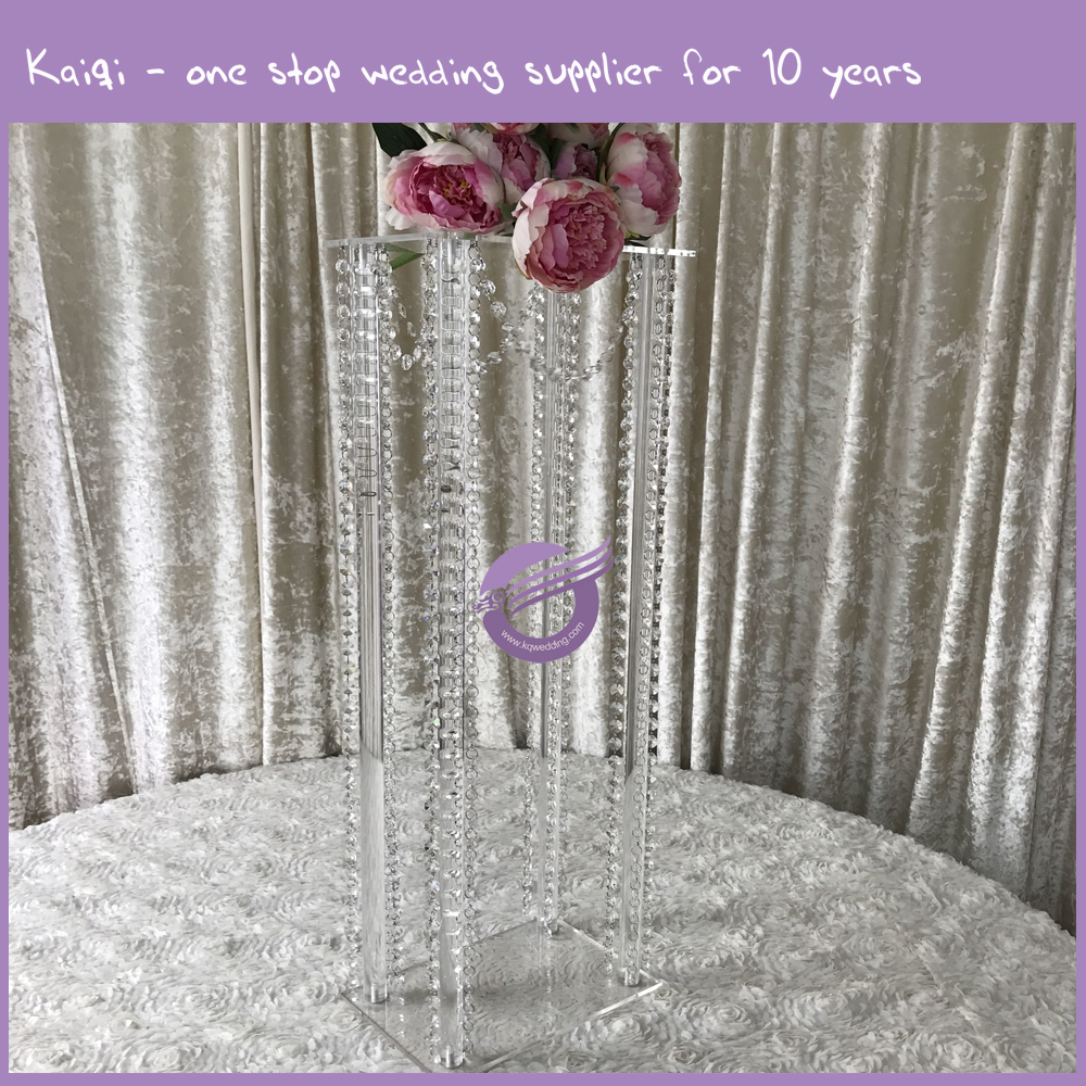 HS00720 wedding crystal acrylic table centerpieces, flower stand
