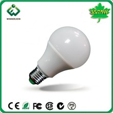 HK exhibition good quality led bulb light 260lm 80Ra 240 degree E26 E27 B22 3W 5W 7W 9W led bulb light 3w