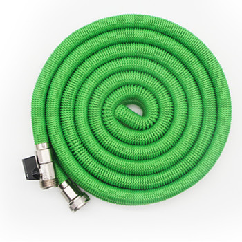Chinese Feihu Innovative Nickle Coated Brass Fittings Magic Garden Hose with Sprayer Nozzle and Holder