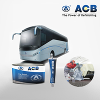 ACB good quality toyota car paint 2k clearcoating