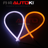 Autoki newest led flexible dual-color drl/daytime running light