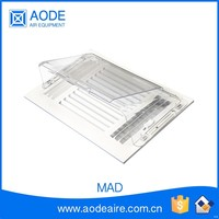 AC wind deflector for airconditioning units