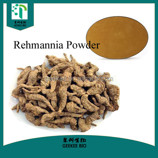 Plant extract Herbal extract rehmannia glutinosa powder Medicine