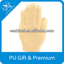 Promotional custom hand stress ball squeezable foam kids toy for magic advertising product