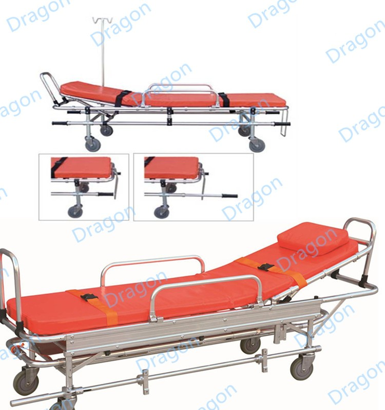 Hi-Low product!!Evacuation folding ambulance stretcher;icu stretcher;DW-AL003