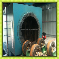 Roller Conveyor Steel Pipe Descaling Dustless Shot Blasting Machine