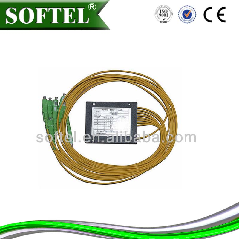 fiber optic 1x8 plc splitter ftth project