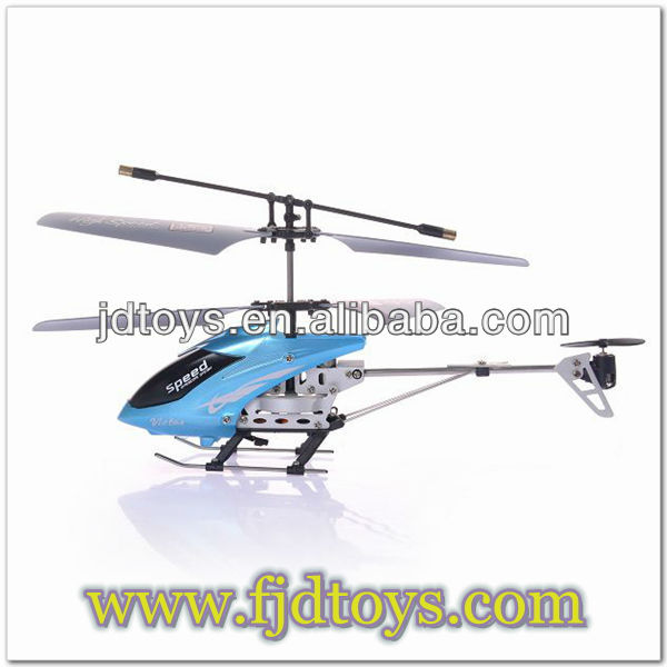 Very young models 3.5CH new function metal rc helicopter