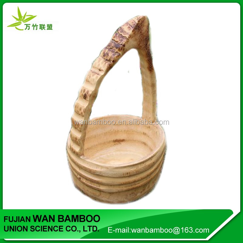 Biodegradable Bamboo Vegetable Fruit Basket