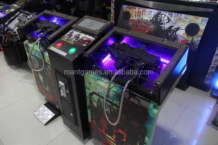 Coin Operated Games Razing Storm Vedio Shooting Game Arcade Game Machine