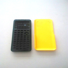 2015 good design and high quality electrical products calculator plastic injection molding