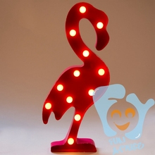Holiday decorations LED pink flamingo manufacturers
