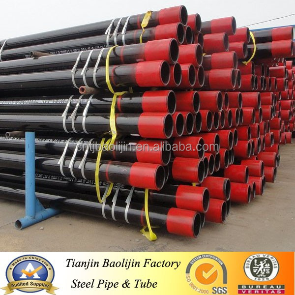API 5CT J55 K55 N80 L80 P110 casing pipe