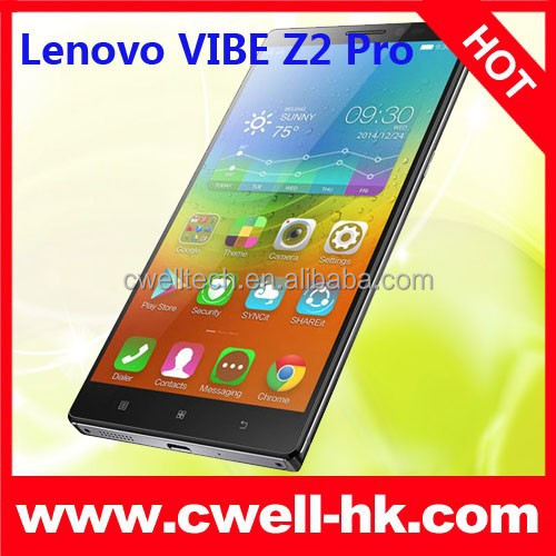 Original 4G LTE Lenovo VIBE Z2 Pro K920 Smartphone Quad Core 3GB RAM 32GB ROM 6 Inch Big Touch Screen Mobile Phone