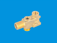Copper CW617N or DZR Throttle Valve