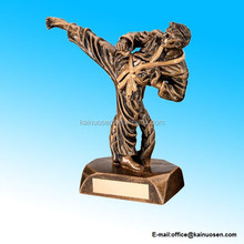 Resin Karate Figure Trophy