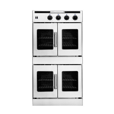 American Range Hybrid Liquid Propane Double French Doors Wall Oven